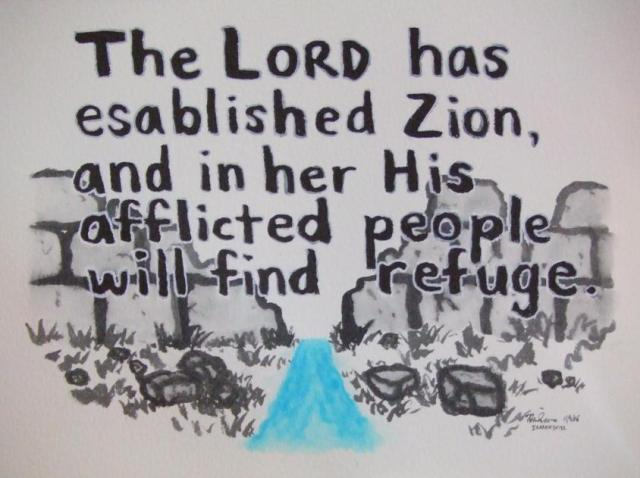 Image result for That the Lord hath founded Zion