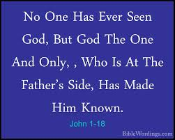 Image result for John 1:18