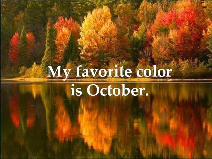 Happy meets Crazy: Hello, Glorious October!